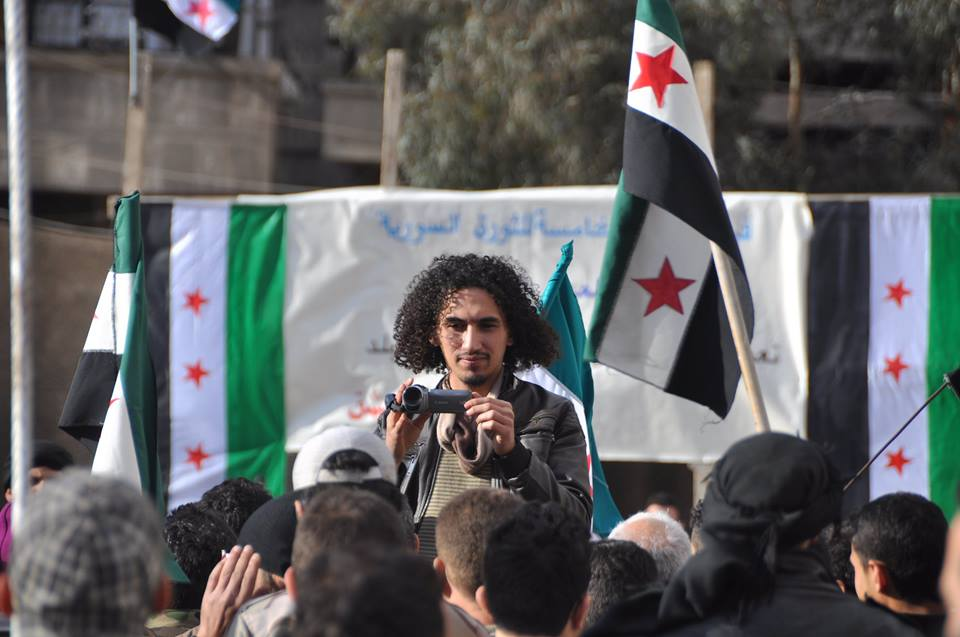 Per Anger-priset till Abdullah al-Khateeb, Syrien